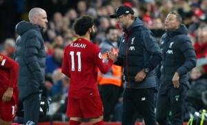 Klopp, Salah, Liverpool