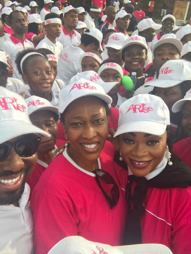 Dr Siju leads thousands of women and men in Arise Walk for Life