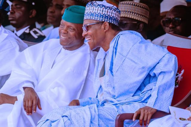 I'm proud to have selected Osinbajo as my running mate ― Buhari