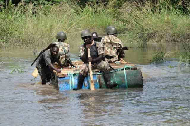 Bayelsa: Troops raid pirates, militants camp, kill 6 - Vanguard News