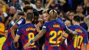 Barcelona, Messi, Suarez, Pique