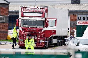 Vietnam, UK truck, truck victims