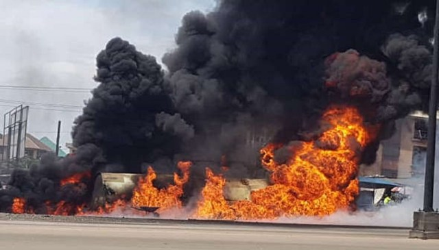 Tanker explosion: Welder burnt to death, 3 sustain burns in Awka