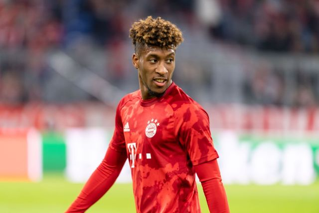 Manchester City consider Kingsley Coman as Leroy Sane replacement
