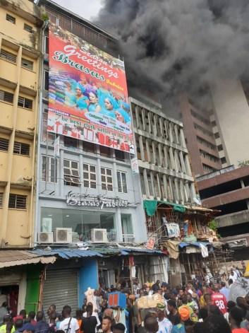 Fire, Lagos, Balogun Market