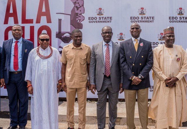 FG, Obaseki synergise to improve federal roads in Edo