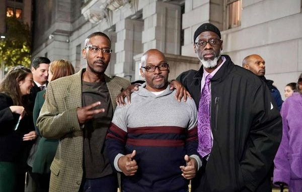 Three men found innocent of murder charge after spending 36 years in prison