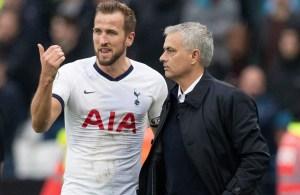 Mourinho, Kane, Spurs