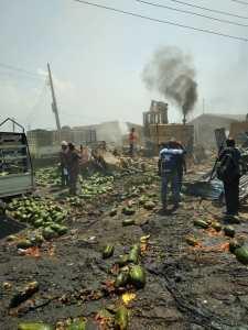 Lagos council demolishes popular Ketu fruits Market for redevelopment