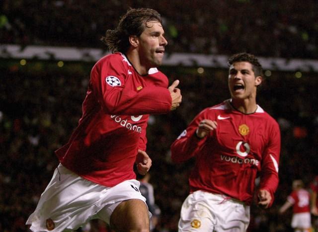 Ronaldo, Nistelrooy, Man United