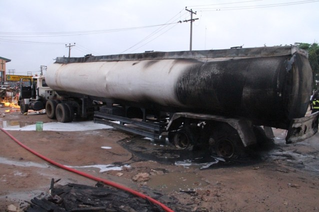 Tanker driver assistant killed in fuel station fire outbreak in Kano