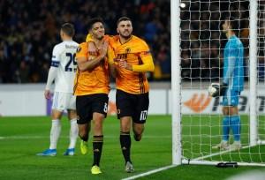 Wolves, Jimenez, Bratislava, Europa league