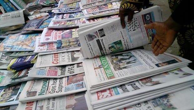 Edo 2020: suspected government agents mop up newspapers in Benin