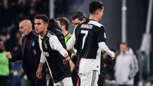 Ronaldo, Juventus, Substitution