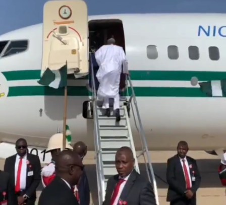 Buhari jets out to Egypt on Tuesday