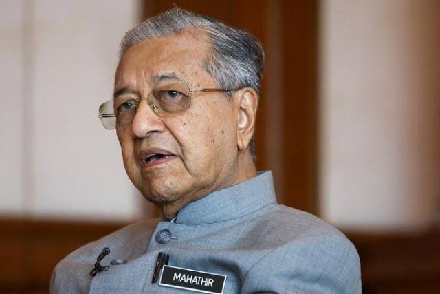 Mahatir Mohamed, Malaysia PM,
