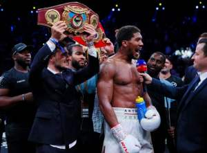 Anthony Joshua, Wilder, Fury