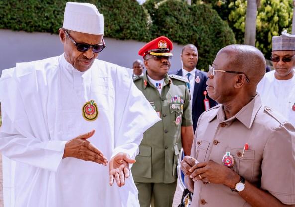 Oshiomhole, APC Crises: Intrigues over NEC meeting, Buhari's attendance doubtful