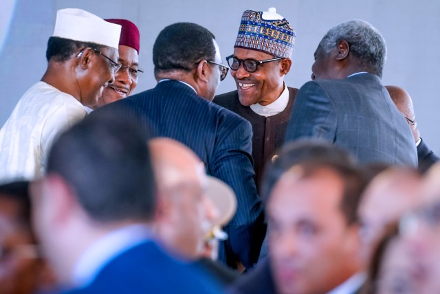 Buhari attends Program of ASWAN Forum on peace, sustainable Development in Africa
