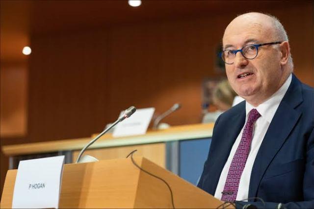 EU, US, Phil Hogan, Trade talks