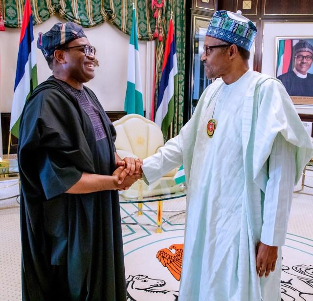 Akinwumi Adesina, AfDB, Buhari,