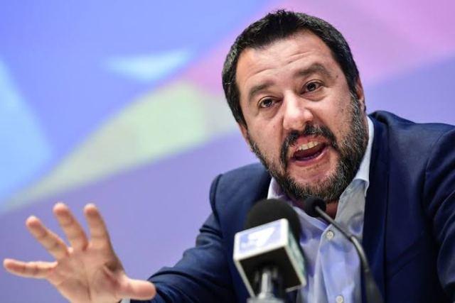 Salvini, Italy, Migrants