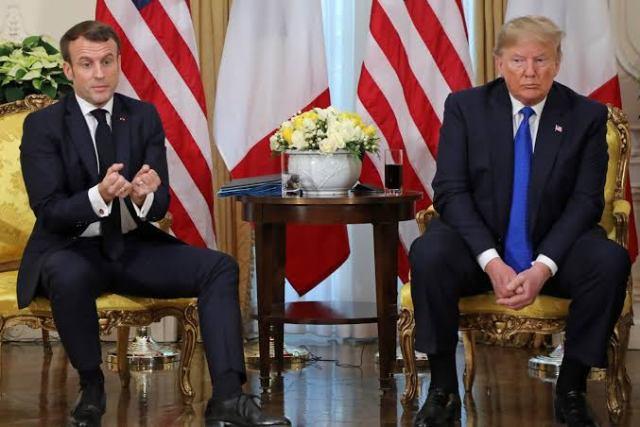 Trump, Macron, France, U.S.,