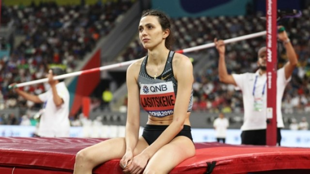 Lasitskene: Russian high-jump star slams officials over ban