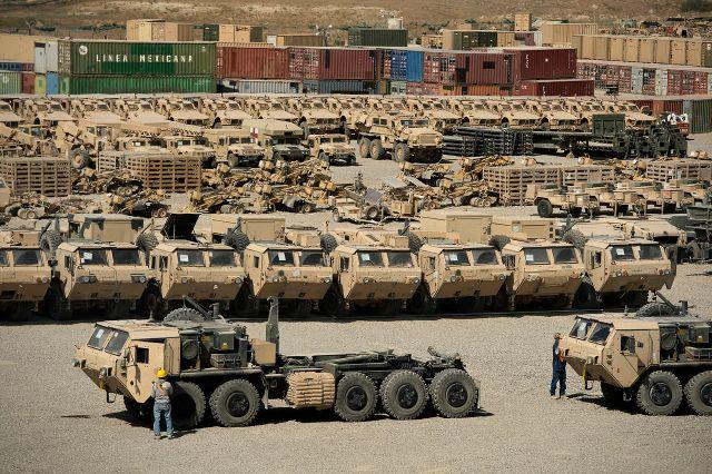 U.S., Military equipment