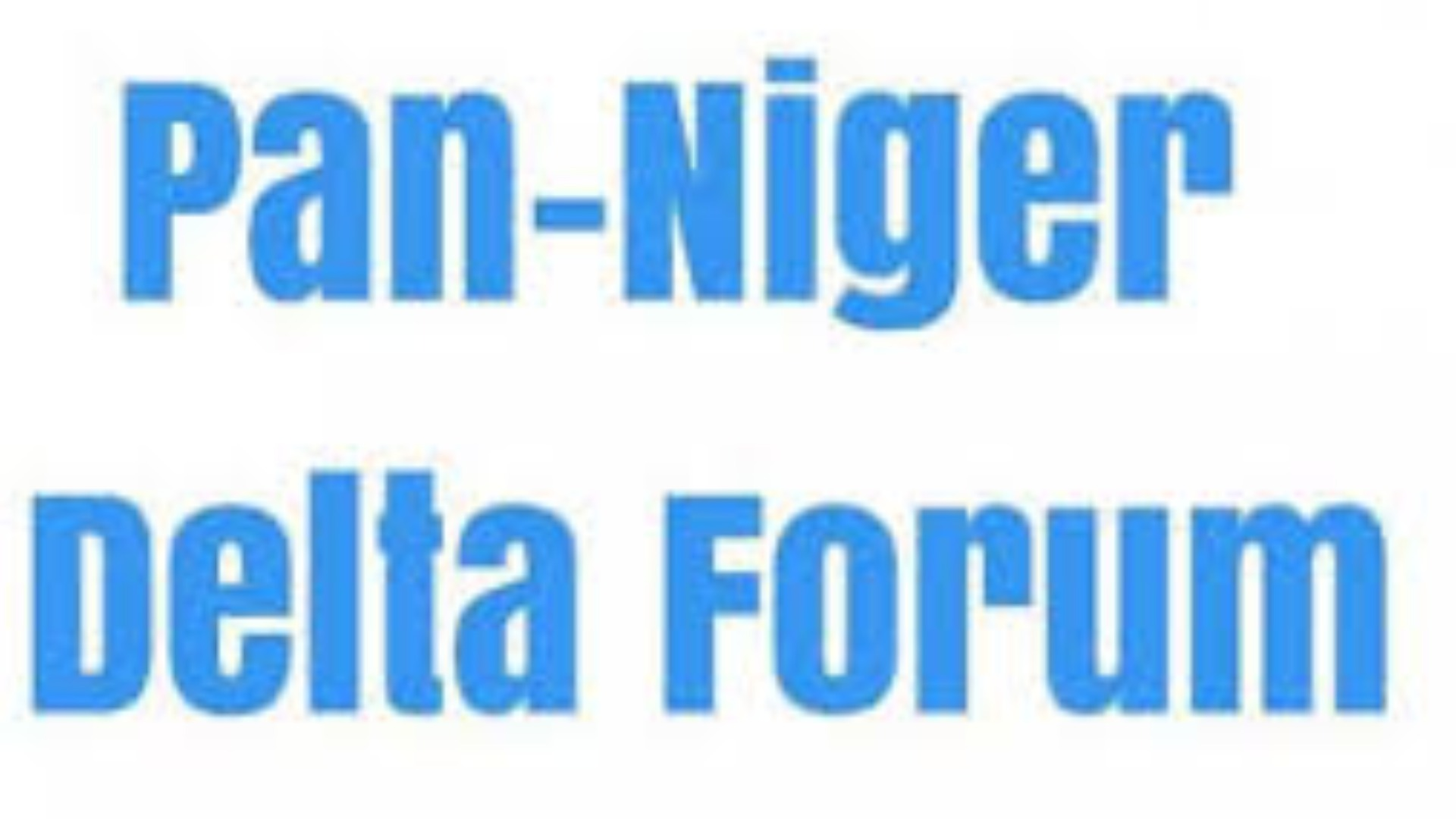 Post-coronavirus: Relocate dry dock to open up Niger Delta economy, PANDEF, UNDEDSS task FG