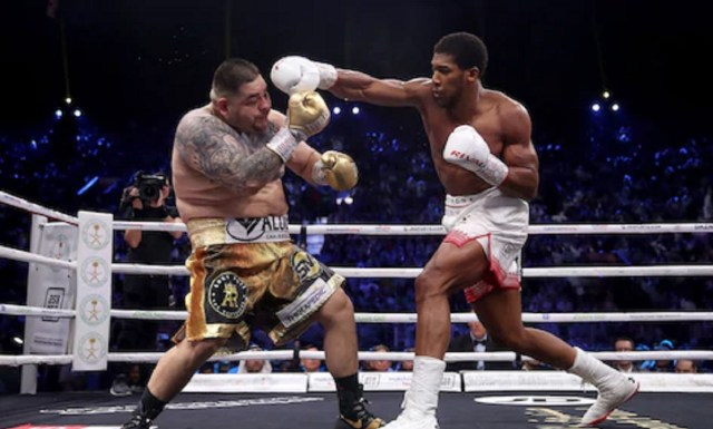 Anthony Joshua, Ruiz Jr