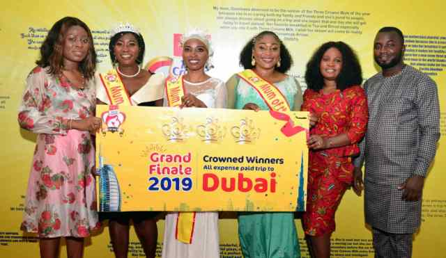 Three winners emerge at Three Crowns 'Mum of the year' competition