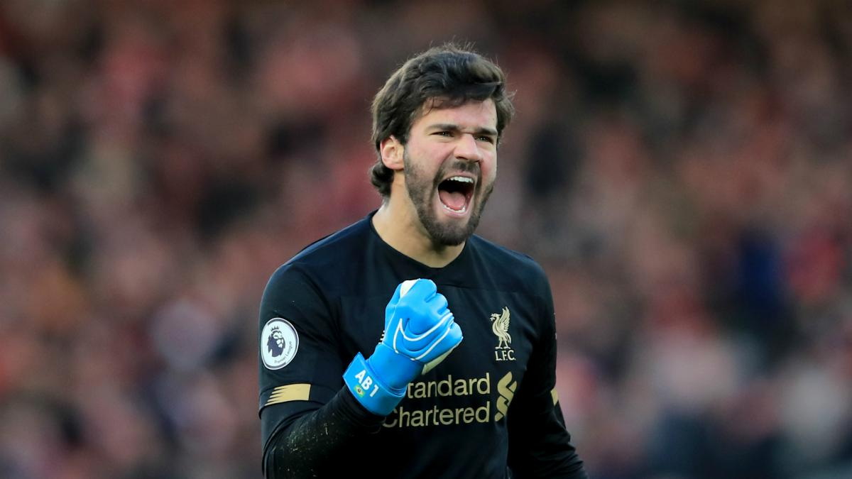 Liverpool's Alisson Top Goalkeepers' Performance Stats Index