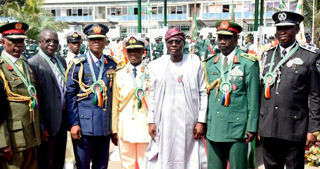 Sanwo-Olu to empower widows of fallen Armed Forces personnel