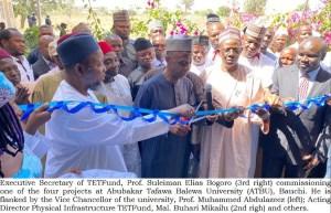 Professor Bogoro commissions N5bn projects at ATBU