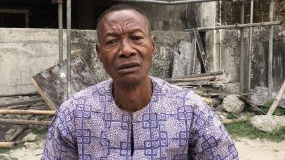 Kevin Ikwunado, the father of the deceased Port Harcourt mechanic, Chima Ikwunado