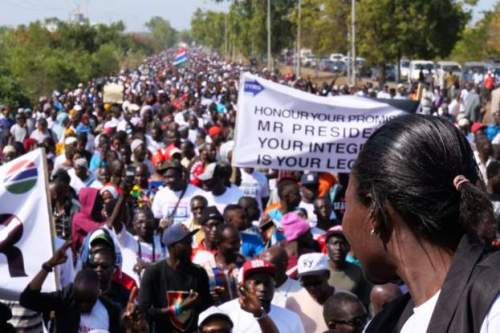 Gambia: Government  bans group opposed to president