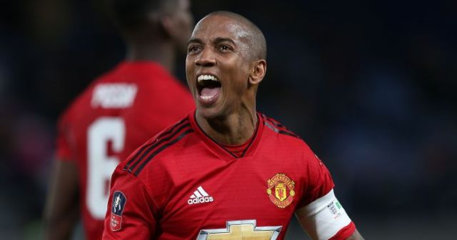 Ashley Young, Man United, Inter Milan
