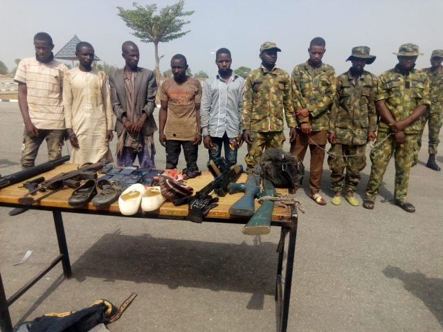 Navy arrest 9 suspected kidnappers, rescue 28 victims