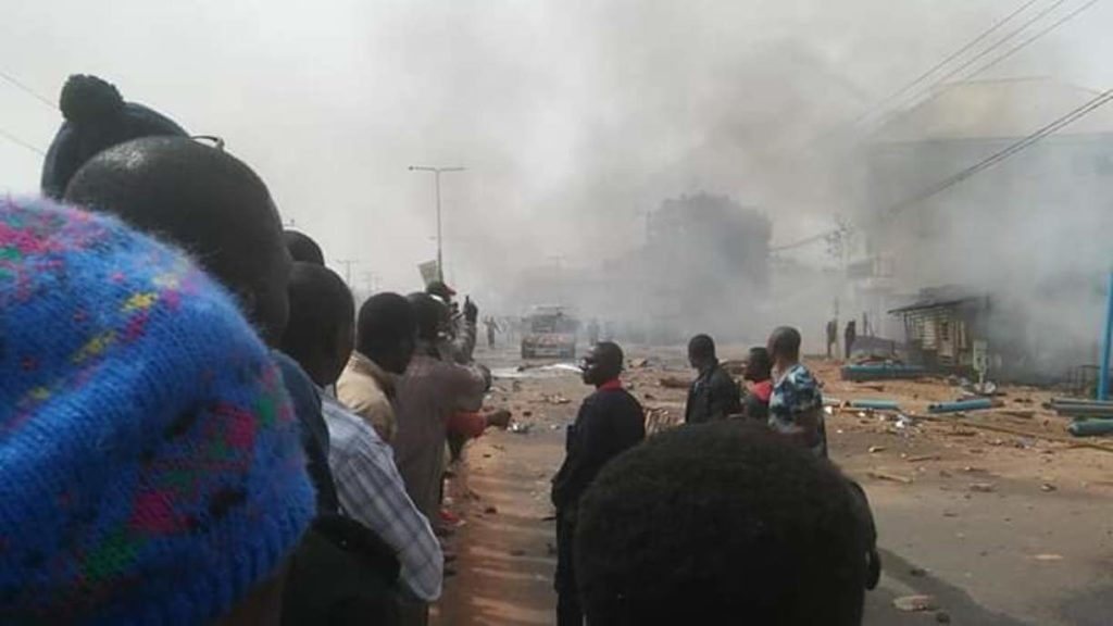 Kasupda Demolish 10 Shops In Kaduna