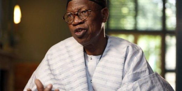 Why we increased hate speech fine to N5m ? Lai Mohammed