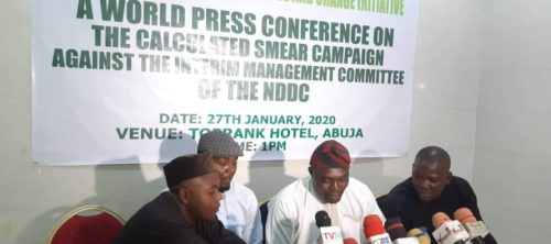 Some people targeting acting NDDC MD to derail recovery of loot