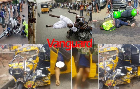 Lagos: 689 dead, over 250 injured in 1,500 Okada, tricycle accidents within 4 years ? Reports