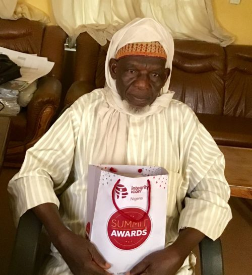 'Champion of Integrity' awards Bauchi pensioner who returned N1m excess gratuity