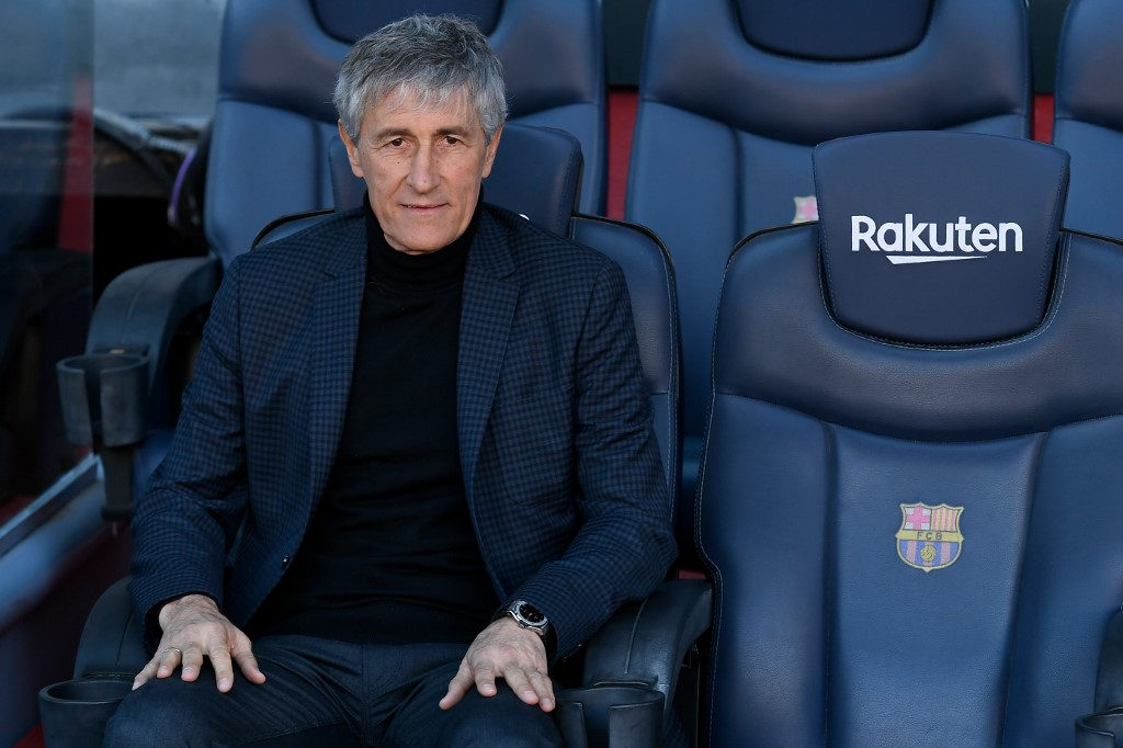 La Liga slip leads to rift between Barcelona players, manager Setien