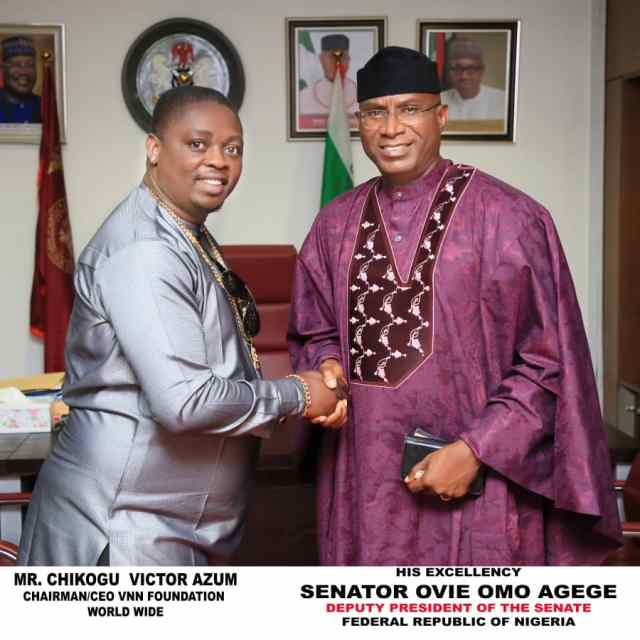 Ndokwa, Senator Ovie Omo-Agege, DSP
