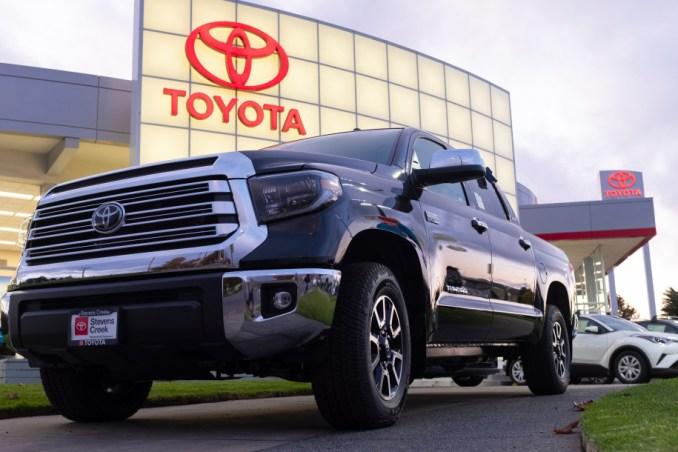 Toyota beats Volkswagen in 2020 global car sales