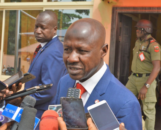 Magu vows to bring former minister Alison-Madueke back to Nigeria to face justice
