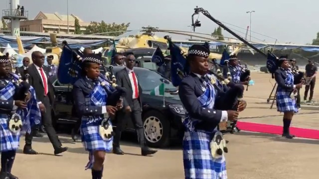 Video: Buhari attends induction of Nigerian Air Force new combat helicopters