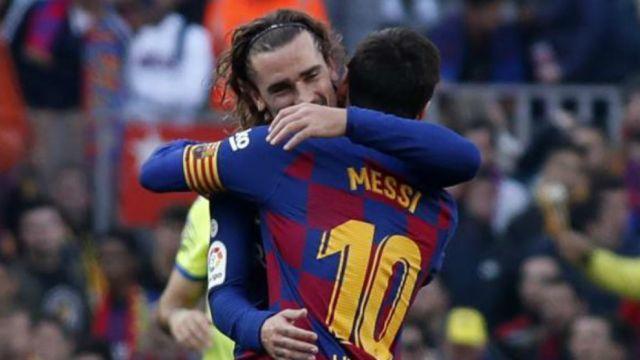 Griezmann, Messi